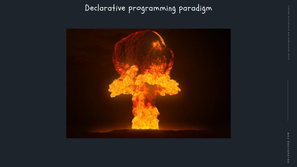 Declarative programming paradigm