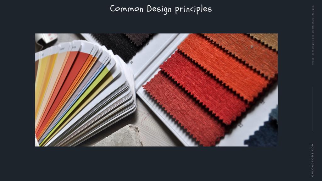 Common Design principles