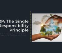 SRP The Single Responsibility Principle