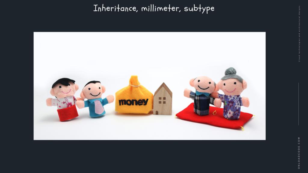 Inheritance, millimeter, subtype