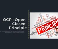 Open Closed Principle