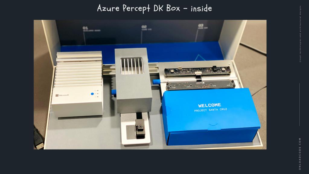 Azure Percept DK Box - inside