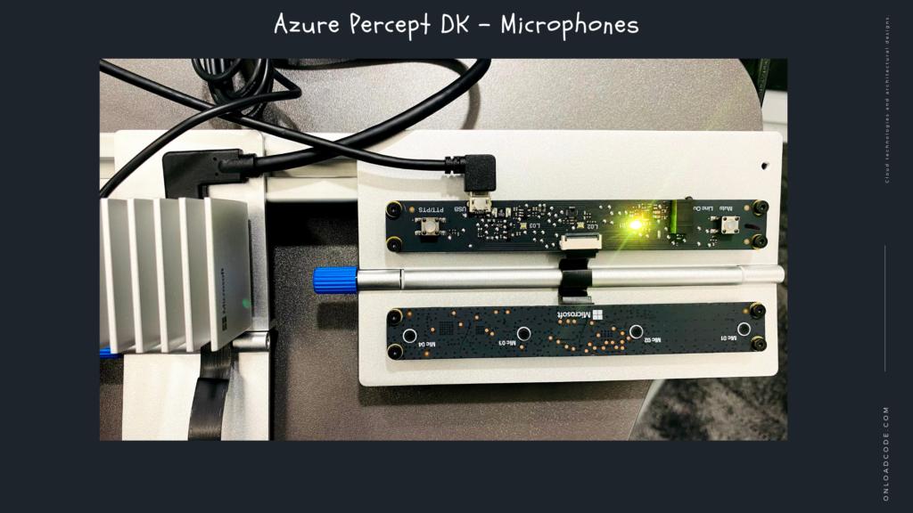 Azure Percept DK - Microphones